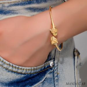 دستبند طلا تایگر